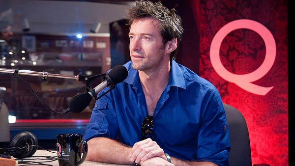 Jackman appears in a photo from an interview he did with CBS radio's 'Q' in 2011.