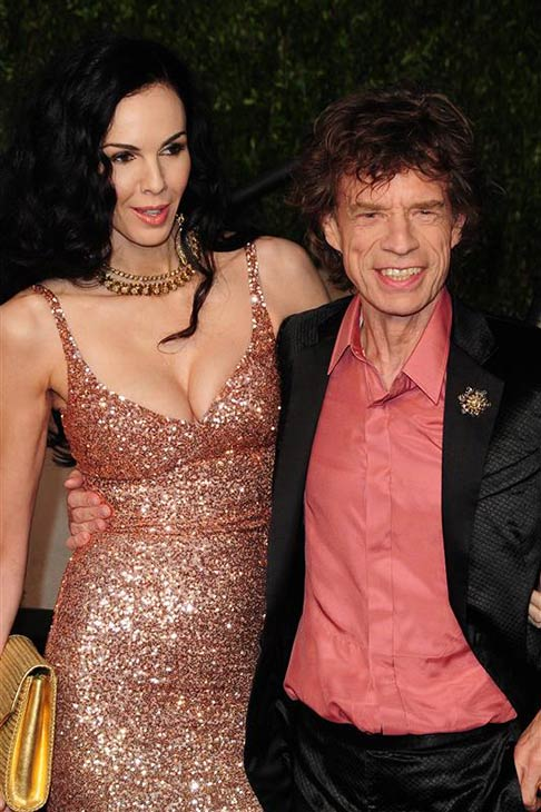 "<div class=""meta image-caption""><div class=""origin-logo origin-image ""><span></span></div><span class=""caption-text"">L'Wren Scott appears with partner Mick Jagger at Vanity Fair's 2011 Oscar after party in Los Angeles on Feb. 27, 2011. (Kyle Rover / Startraksphoto.com)</span></div>"