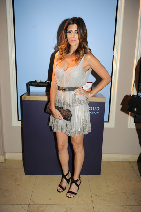 "<div class=""meta ""><span class=""caption-text "">Jamie-Lynn Sigler from 'The Sopranos' and 'Entourage' appears at an intimate cocktail party to celebrate the launch of the Joseph Abboud watch collection at the Sunset Tower Hotel in Los Angeles on Thursday, June 16, 2011. (Seth Browarnik / WorldRedeye.com)</span></div>"
