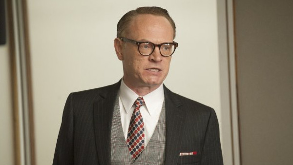 "<div class=""meta ""><span class=""caption-text "">Jared Harris of 'Mad Men' on being nominated for Outstanding Supporting Actor In A Drama Series:  'I couldn't have been more honored and even a bit overwhelmed when I heard the news. Every role on 'Mad Men' is written with great detail and weight and Lane Pryce was no exception. I loved my time on the show - this is such an incredible way to walk away. Thanks to the incomparable Mr. Weiner and to my cast mates - Jon, John, Lizzie, Christina, Vinnie, Embeth, and everyone else - I can only be as good as those who I work opposite, and you are the best. To everyone at AMC, Lionsgate, the writers, and crew - my sincerest thank you, I had a blast.'  This is Harris' first Emmy nomination.  (Pictured: Jared Harris appears in a scene from 'Mad Men.') (AMC)</span></div>"