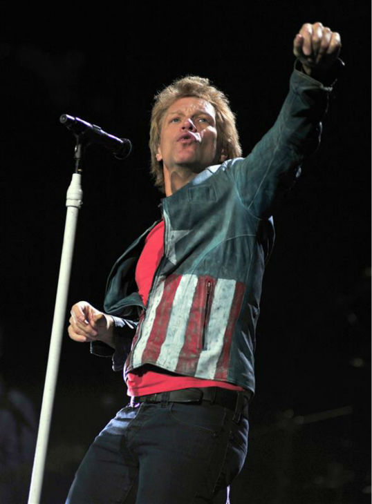 Jon Bon Jovi performs with Bon Jovi in Anaheim, California on Oct. 9, 2013. The band earned the No. 1 spot on Pollstar&#39;s list of top-grossing tours of 2013. <span class=meta>(Kelly A. Swift &#47; Startraksphoto.com)</span>