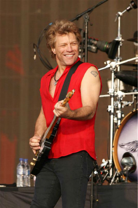 Jon Bon Jovi performs with Bon Jovi in London on July 5, 2013. The band earned the No. 1 spot on Pollstar&#39;s list of top-grossing tours of 2013. <span class=meta>(Richard Young &#47; Rex &#47; Startraksphoto.com)</span>