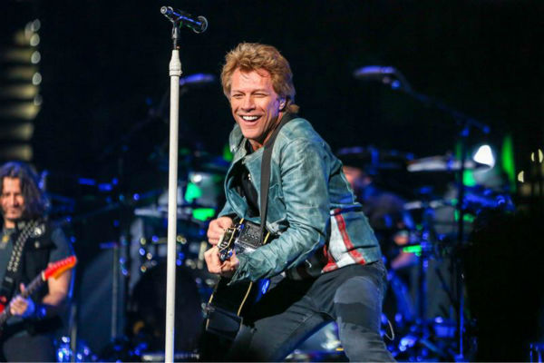 The time Jon Bon Jovi made about 10,000 to 15,000 &#40;ballpark figure&#41; women extraordinarily happy by performing with Bon Jovi at the PNC Arena in Raleigh, North Carolina on Nov. 6, 2013. <span class=meta>(Andy Martin Jr. &#47; Startraksphoto.com)</span>