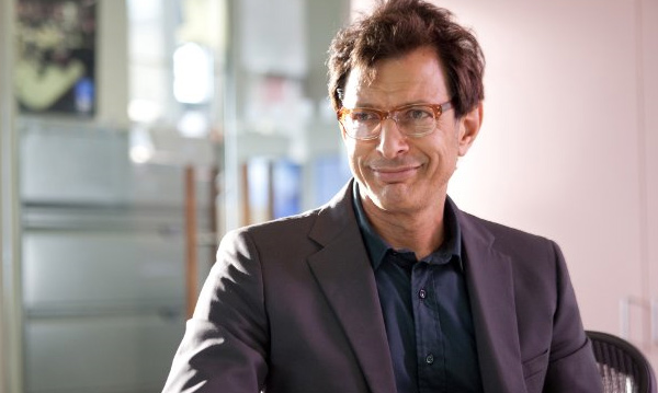 Jeff Goldblum appears in a photo from the 2010 film 'Morning Glory.'