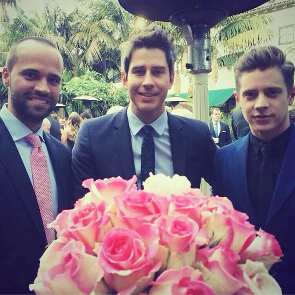 &#39;The Bachelorette&#39; season 8 winner Jef Holm, who was once engaged to main star Emily Maynard, posted this Instagram photo of himself with fellow former contestants Arie Luyendyk Jr. and John Wolfner at the wedding of &#39;The Bachelor&#39; season 17 star Sean Lowe and Catherine Giudici on Jan. 26, 2014.  &#39;Great company at the wedding. @ariejr @johnwolfner @seanloweksu @catherinegiudici #countdownlowedown #thebachelorwedding,&#39; he said.  &#39;Best part of #TheBachelorWedding reception so far is @jefholm being carded and not being served because he has no ID on him,&#39; tweeted &#39;Bachelor&#39; producer Elan Gale.   The event aired live on ABC from the Four Seasons Biltmore hotel in Santa Barbara, CA. <span class=meta>(instagram.com&#47;p&#47;jpxWmWPs_9&#47; &#47; instagram.com&#47;jefholm)</span>