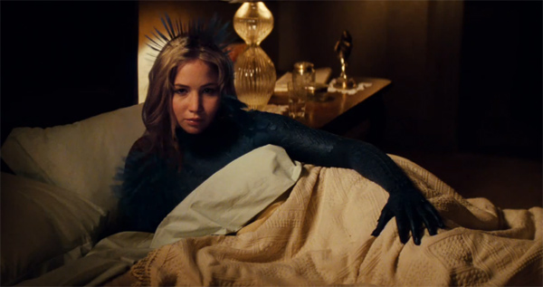 Jennifer Lawrence appears as the mutant Mystique in a scene from 'X-Men: First Class.'