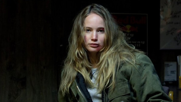 Jennifer Lawrence appears in a photo from her 2010 film 'Winter's Bone.'