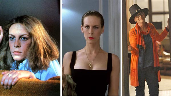 Jamie Lee Curtis appears in scenes from 'Halloween' (1978), 'True Lies' (1994) and 'New Girl.' (2012)