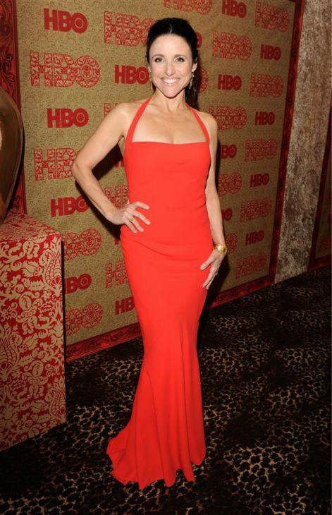 "<div class=""meta ""><span class=""caption-text "">Julia Louis-Dreyfus (nominated for her roles in HBO's 'Veep' and the movie 'Enough Said') appears at HBO's 2014 Golden Globe Awards after party at the Circa 55 restaurant in Beverly Hills, California on Jan. 12, 2014. (Tony DiMaio / Startraksphoto.com)</span></div>"
