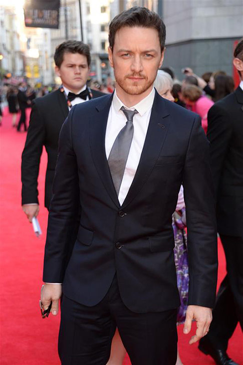 Tom McAvoy of &#39;X-Men&#39; fame &#40;he plays Professor Charles Xavier&#41; appears at the 2014 Laurence Olivier Awards in London on April 13, 2014. <span class=meta>(Richard Young &#47; Rex &#47; Startraksphoto.com)</span>
