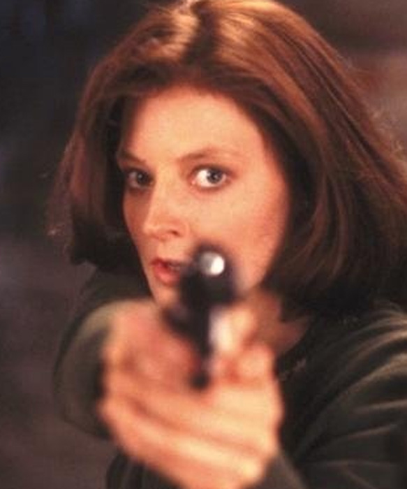 Jodie Foster appears in a scene from the 1991 film 'The Silence of the Lambs.'