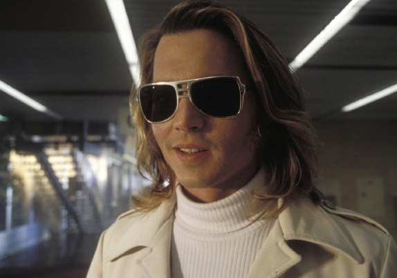 Johnny Depp appears in a scene from the 2001 film &#39;Blow,&#39; where he plays George Jung, the man who established the American cocaine market in 1970. <span class=meta>(New Line Cinema)</span>