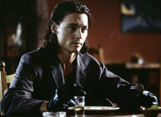 Johnny Depp appears in a scene from the 2003 film 'Once Upon a time in Mexico.'