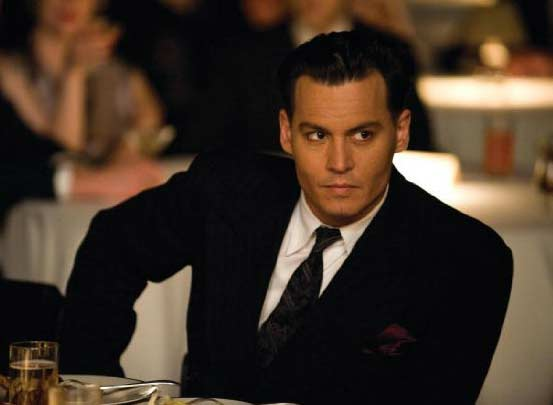 Actor Johnny Depp appears in a scene from the 2009 film &#39;Public Enemies&#39; where he played notorious American gangster John Dillinger. <span class=meta>(Universal Pictures)</span>