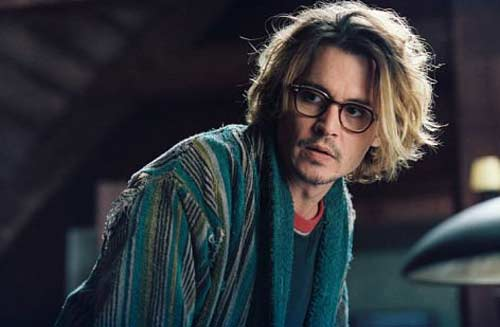 Johnny Depp appears in a scene from the 2004 film 'Secret Window' where he plays a writer who is followed and eventually harassed by a stranger claiming Mort, Depp's character in the film, plagiarized off of him.