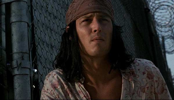 Johnny Depp appears in a scene from the 1997 film &#39;The Brave&#39; where he plays an American Indian who takes a role in a snuff film to help his poverty stricken family. <span class=meta>(Jeremy Thomas Productions &#40;as Jeremy Thomas&#41; &#47; Acappella Pictures &#47; Brave Pictures &#47; Majestic Films International)</span>