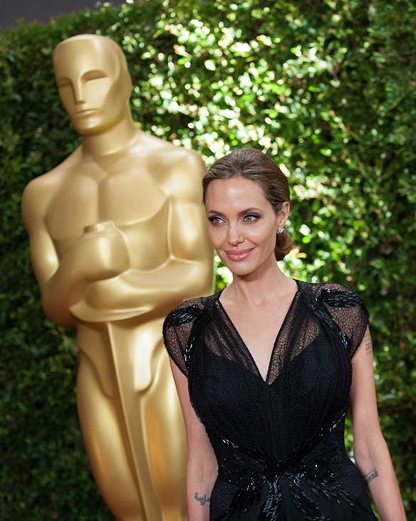 "<div class=""meta image-caption""><div class=""origin-logo origin-image ""><span></span></div><span class=""caption-text"">Jean Hersholt Humanitarian Award recipient Angelina Jolie appears at the 2013 Governors Awards at The Ray Dolby Ballroom at Hollywood and Highland Center in Hollywood, California on Saturday, Nov. 16, 2013. She gave an emotional speech honoring her late mother. (Matt Petit / A.M.P.A.S.)</span></div>"