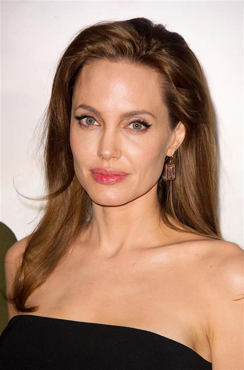 Angelina Jolie appears at a photo call for the movie &#39;Maleficent&#39; in Paris, France on May 6, 2014. <span class=meta>(Thierry Orban &#47; Abaca &#47; Startraksphoto.com)</span>