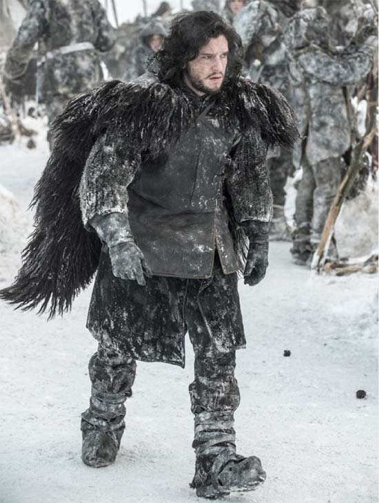 "<div class=""meta ""><span class=""caption-text "">Kit Harington appears as Jon Snow in a scene from season 3 of the HBO show 'Game of Thrones.' (Helen Sloan / HBO)</span></div>"