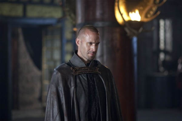 Joseph Fiennes in a scene from a 2010 episode of...