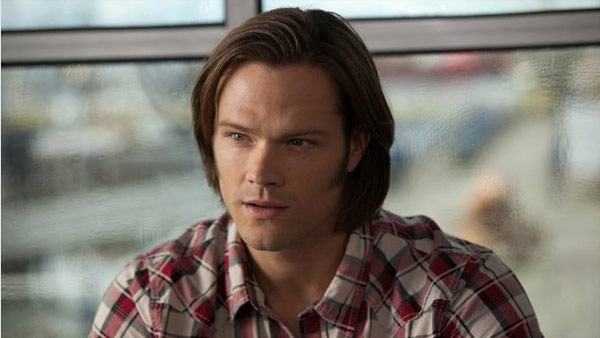 Jared Padalecki appears in a scene from the CW...