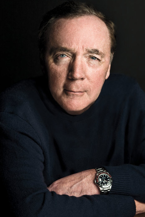 James Patterson appears in a publicity photo.