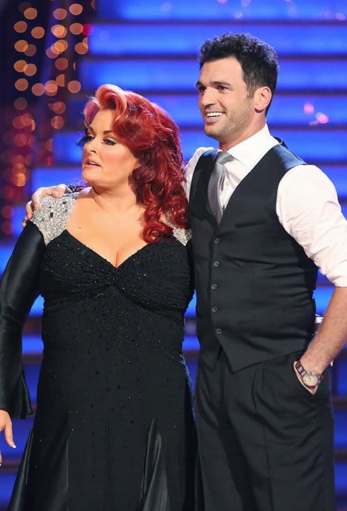 "<div class=""meta image-caption""><div class=""origin-logo origin-image ""><span></span></div><span class=""caption-text"">Singer Wynonna Judd and her partner Tony Dovolani received 18 out of 30 points from the judges for their Cha Cha Cha routine on the season premiere of 'Dancing With The Stars,' which aired on March 18, 2013 (ABC Photo)</span></div>"