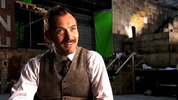 Jude Law talks 'Sherlock Holmes: A Game of Shadows' in this promotional video provided by Warner Bros. Pictures in December 2011.