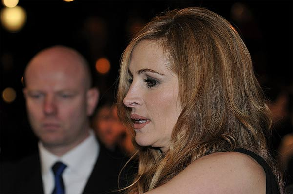 Julia Roberts appears at the premiere of...