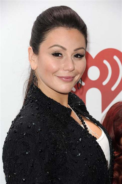 Jennifer 'JWoww' Farley appears at Z100's Jingle Ball 2013 in New York City on Dec. 13, 2013.