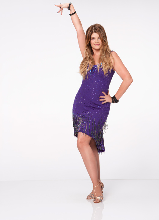 "<div class=""meta ""><span class=""caption-text "">Kirstie Alley appears in an official cast photo for 'Dancing With The Stars: All-Stars' season 15. (ABC / Craig Sjodin)</span></div>"