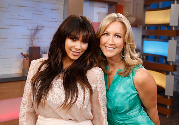 "<div class=""meta image-caption""><div class=""origin-logo origin-image ""><span></span></div><span class=""caption-text"">Kim Kardashian is interviewed by Lara Spencer on ABC's 'Good Morning America' on March 26, 2013. Check out what she said about her pregnancy. (ABC Photo / Heidi Gutman)</span></div>"