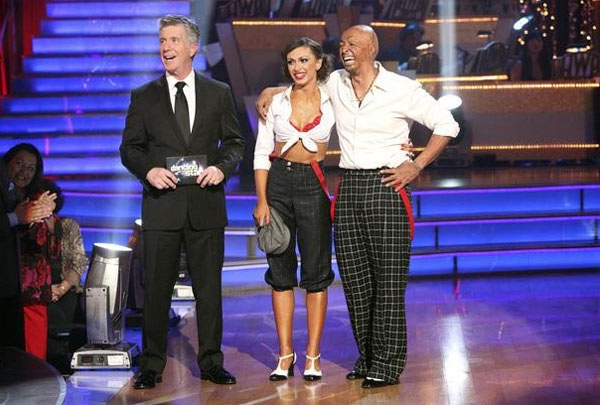 "<div class=""meta ""><span class=""caption-text "">'All My Children' actor and Iraq War veteran J.R. Martinez and his partner Karina Smirnoff received  28 out of 30 for their favorite dance, a Jive from week 2 on 'Dancing With The Stars: The Results Show' on Tuesday, November 22. (ABC / Adam Taylor)</span></div>"