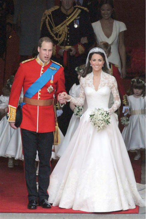 The time Kate Middleton was a real Princess Bride at her Royal Wedding to Prince William in London on April 29, 2011. <span class=meta>(Cisotti-Diddia &#47; Startraksphoto.com)</span>
