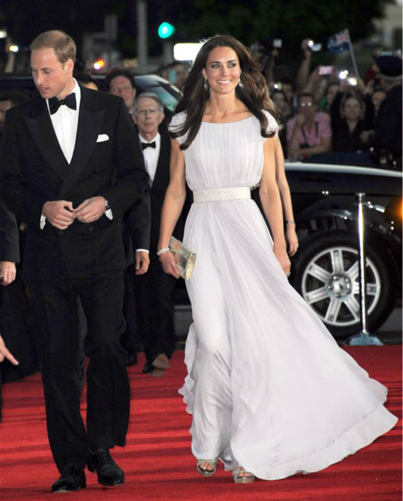 The time Kate Middleton wore this perfect gown at the British Academy of Film and Television Arts &#40;BAFTA&#41; inaugural Brits To Watch dinner at the Belsaco Theater in downtown Los Angeles on July 9, 2011. <span class=meta>(Valerie Malcon &#47; Pool &#47; Startraksphoto.com)</span>