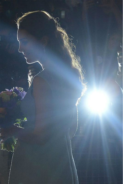 The time Kate Middleton cast a breathtaking silhouette at the National Portrait Gallery in London on April 24, 2013. <span class=meta>(Barcroft Media &#47; Startraksphoto.com)</span>