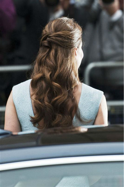 The time Kate Middleton likely inspired a slew of Pinterest photos under folders titled &#39;Wedding hair.&#39; She is pictured here at the National Portrait Gallery in London on April 24, 2013. <span class=meta>(Barcroft Media &#47; Startraksphoto.com)</span>