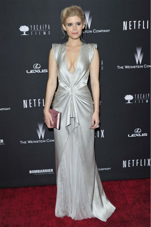 Kate Mara &#40;Netflix&#39;s &#39;House Of Cards&#39;&#41; appears at the Weinstein Company&#39;s and Netflix&#39;s 2014 Golden Globe Awards after party at the Beverly Hilton hotel in Beverly Hills, California on Jan. 12, 2014. <span class=meta>(Kyle Rover &#47; Startraksphoto.com)</span>