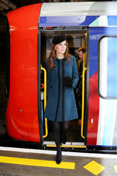The time Kate Middleton -- effortlessly -- minded the gap as she exited a Circle Line subway car at the Baker Street tube station in the London Undergound on March 20, 2013. <span class=meta>(Barcroft Media &#47; Startraksphoto.com)</span>
