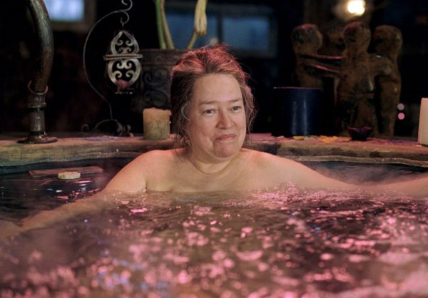 Kathy Bates appear in an undated promotional...