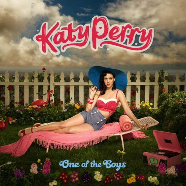 On her album, 'One of the Boys' Katy Perry wrote...