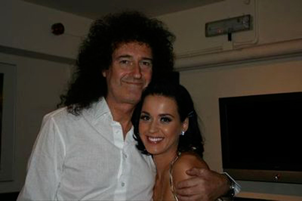 The band Queen has had a large influence on Katy...