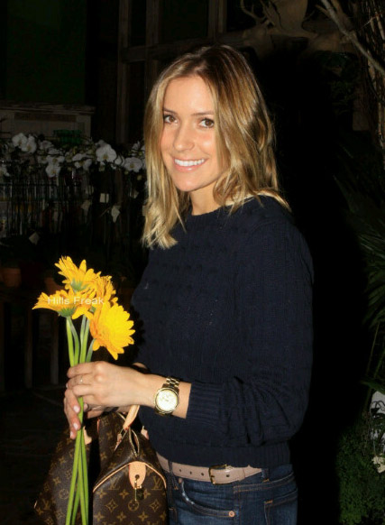 Kristin Cavallari appears in a photo posted on her Twitter page in October 2010.