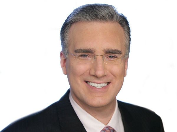 Keith Olbermann appears in a promotional photo from his NBC series.