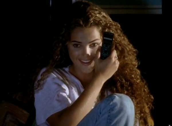 Keri Russell appears in a scene from the 1994 music video 'Always.'