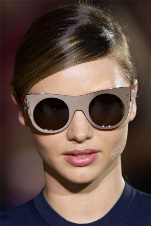 Miranda Kerr, who rose to fame as a Victoria&#39;s Secret Angel, walks the runway at Stella McCartney&#39;s Spring-Summer 2014 Ready-To-Wear show during Paris Fashion Week on Sept. 30, 2013. <span class=meta>(Thierry Orban &#47; Abaca &#47; Startraksphoto.com)</span>