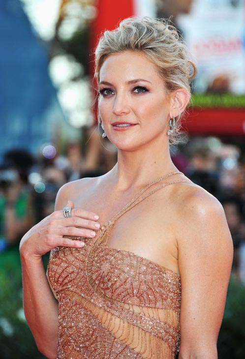 "<div class=""meta ""><span class=""caption-text "">Kate Hudson, wearing an Atelier Versace gown and Faberge jewelry, attends 'The Reluctant Fundamentalist' premiere and opening ceremony during the 69th Venice International Film Festival at Palazzo del Cinema on August 29, 2012 in Venice, Italy. (Pascal Le Segretain / Getty Images)</span></div>"