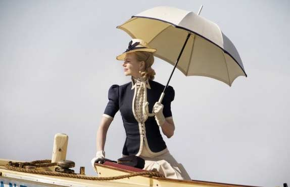 "<div class=""meta ""><span class=""caption-text "">Nicole Kidman appears in a scene from the 2008 film 'Australia' which is set in Northern Australia before World War II, and depicts a couple enduring the Japanese bombing of Darwin, Australia. (Twentieth Century Fox Film Corporation)</span></div>"