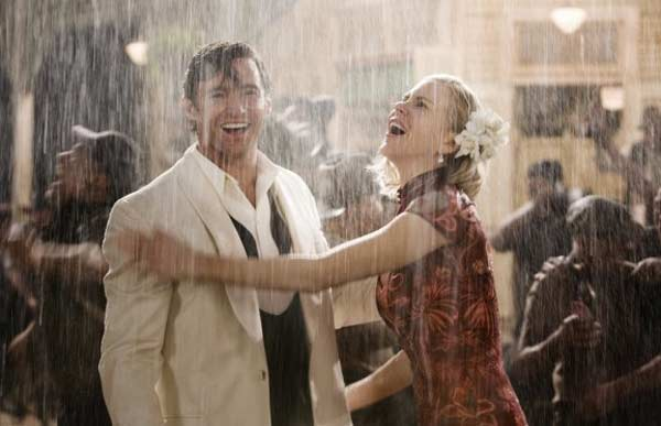 Nicole Kidman appears in a scene from the 2008 film &#39;Australia&#39; alongside co-star Hugh Jackman. The film is set in Northern Australia before World War II, and depicts a couple enduring the Japanese bombing of Darwin, Australia. <span class=meta>(Twentieth Century Fox Film Corporation)</span>