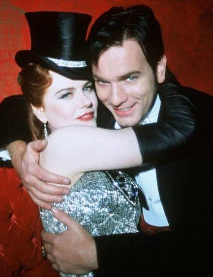 Nicole Kidman appears in a scene from the 2001 film &#39;Moulin Rouge&#39; alongside co-star and on-screen love interest Ewan McGregor. In the film she played a courtesan who McGregor, a poet, attempts to woo. <span class=meta>(Angel Studios &#47; Bazmark Films &#47; Twentieth Century Fox Film Corporation)</span>